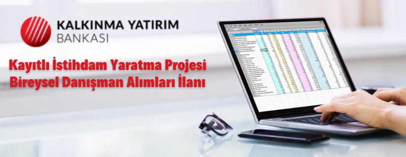 Türkiye Kalkınma ve Yatırım Bankasından personel alım ilanı