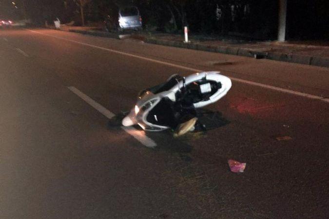 Trabzon'da otomobil motosiklete çarptı: 1 ölü