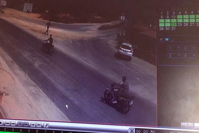 Çanakkale'de gün ortasında motosiklet hırsızlığı