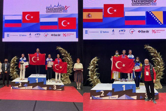 Milli tekvandocular Avrupa şampiyonu oldu