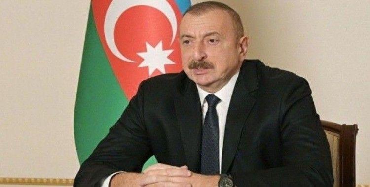 Azerbaycan Cumhurbaşkanı Aliyev, Füzuli ve Şuşa illerini ziyaret etti