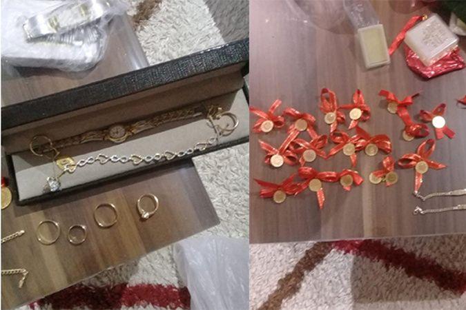 Boya ustası boş dairede bulduğu altınların izini sürerek sahibine ulaştı