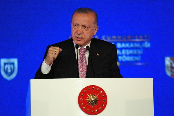 Cumhurbaşkanı Erdoğan, Ay Yıldız Yerleşkesi'nin temel atılma törenine katıldı