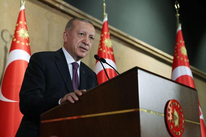 Cumhurbaşkanı Erdoğan'dan Akıncı TİHA paylaşımı