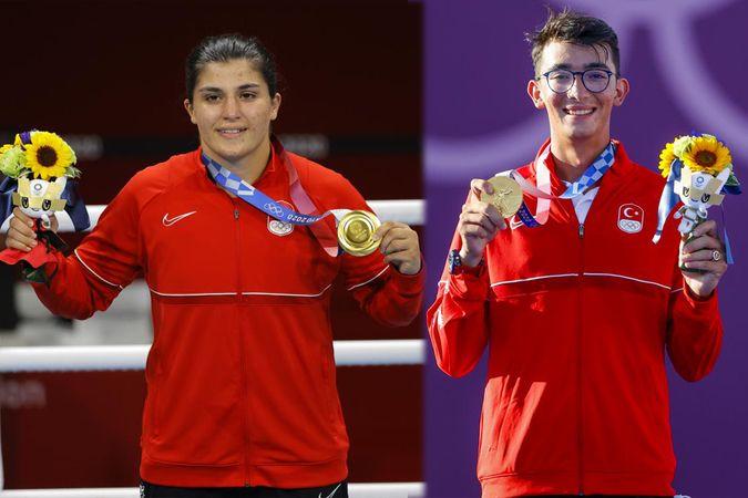 Mete Gazoz ve Busenaz Sürmeneli; en çok konuşulan olimpiyat madalyalı sporcular oldu