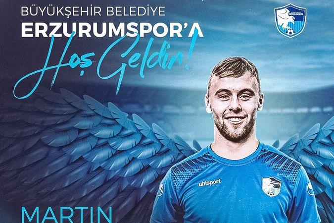 Martin Hasek, BB Erzurumspor'da