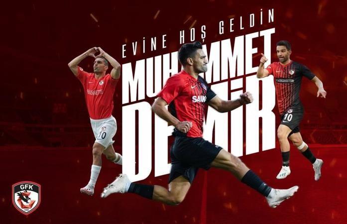 Gaziantep FK, Muhammet Demir'i transfer etti