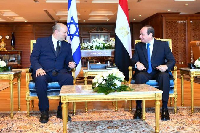 İsrail Başbakanı Bennett'tan Mısır değerlendirmesi: 'Derin bağların temellerini attık'