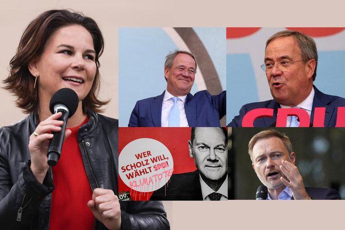 Almanya'da başbakan adayları son kozlarını paylaştı