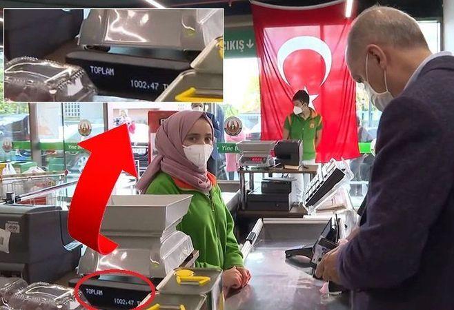 Cumhurbaşkanı Erdoğan'dan atıştırmalık alışverişine 1002 lira!