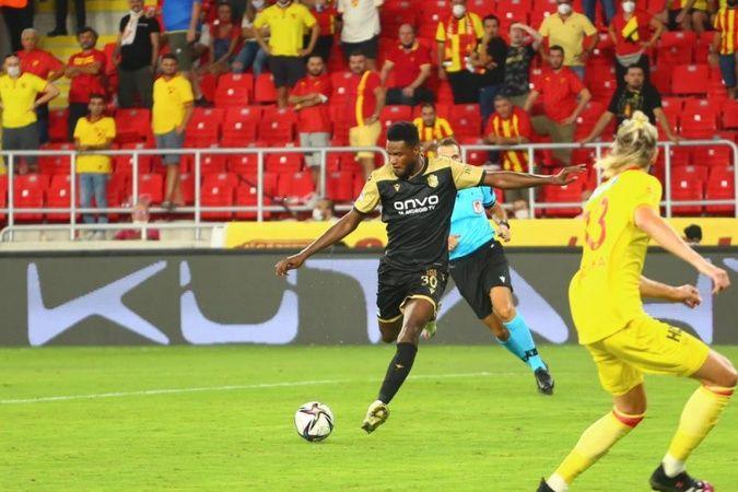 Yeni Malatyasporlu Tetteh: 'Türkiye ligi çok ilginç ve zor bir lig
