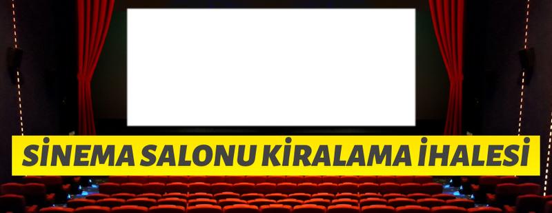 Şırnak Belediyesinden kiralık sinema salonları