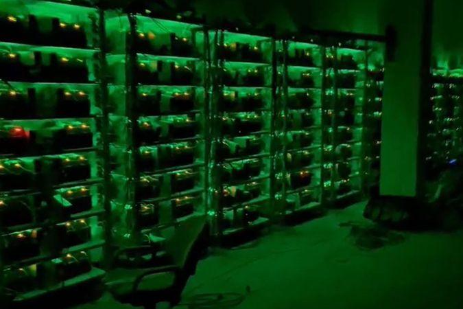 Sahte bitcoin tesisine jandarmadan milyonluk operasyon