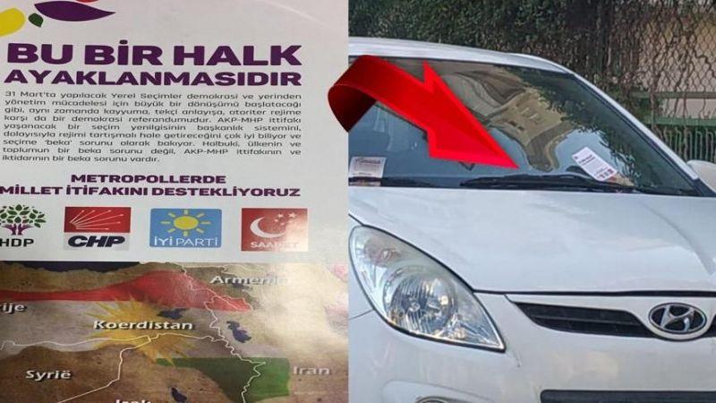 Antalya'da sahte propaganda ters tepti