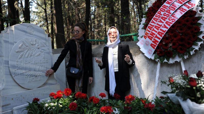 Antalyaspor'un kurucusu Atilla Vehbi Konuk anıldı