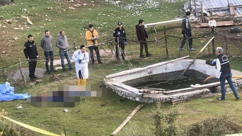 Antalya'da karı koca su kuyusunda ölü bulundu