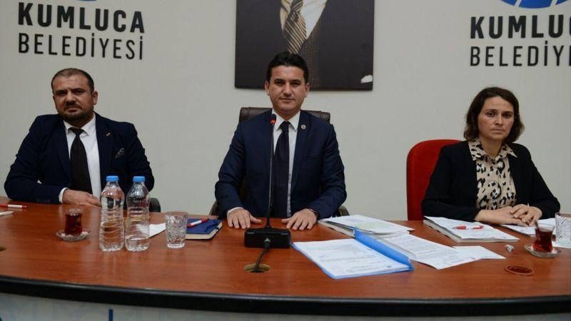 Kumluca Belediyesi ilk meclis toplantısını yaptı