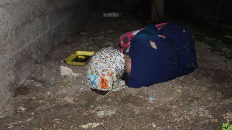 Kayıp kadın balkon altında uyurken bulundu