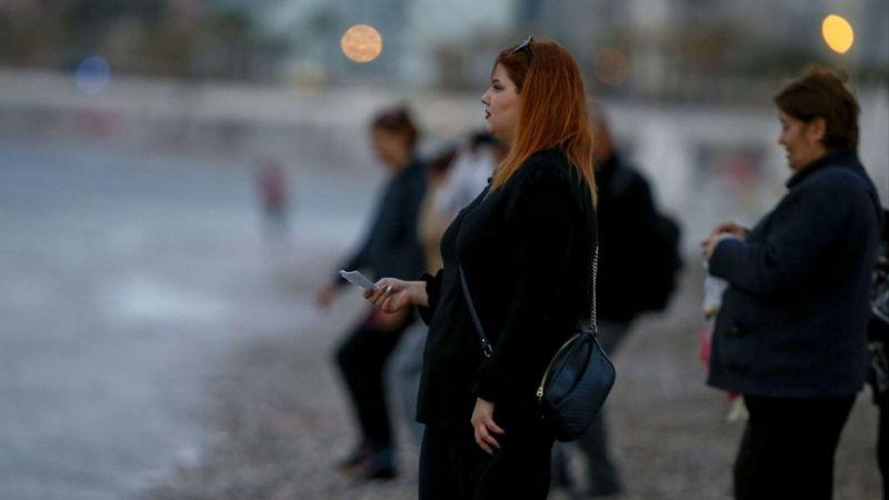 Antalya'da dilekler denize atıldı