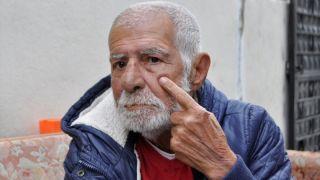 Yaşlı adam otobüsten zorla indirildi