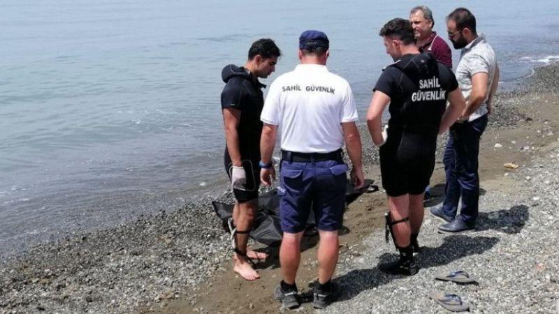 Hatay'da denize giren kız çocuğu boğuldu