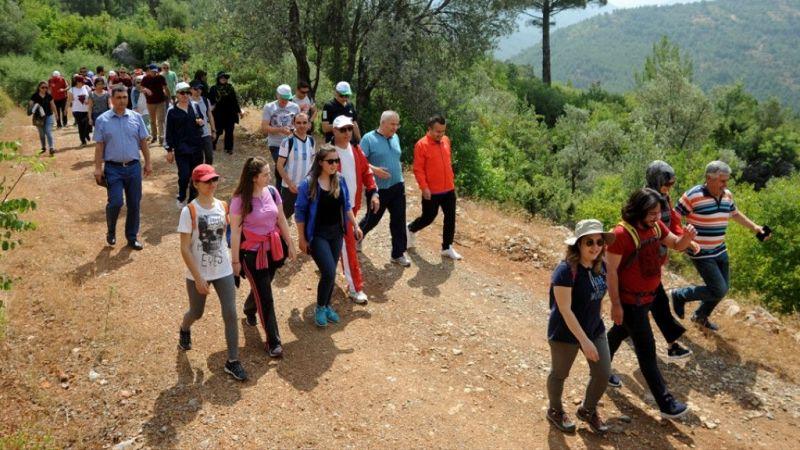 """Antalya'da """"İpek Yolu Doğa Yürüyüşü"""""""