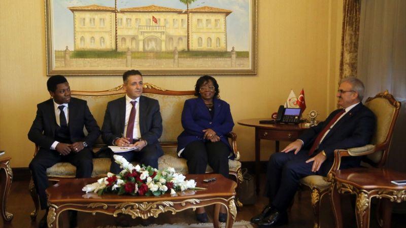 Tanzanya Büyükelçisi Kiondo'dan Vali Karaloğlu'na ziyaret