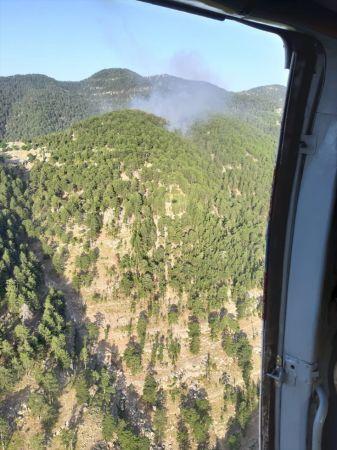 Manavgat'ta çıkan orman yangını kontrol altına alındı