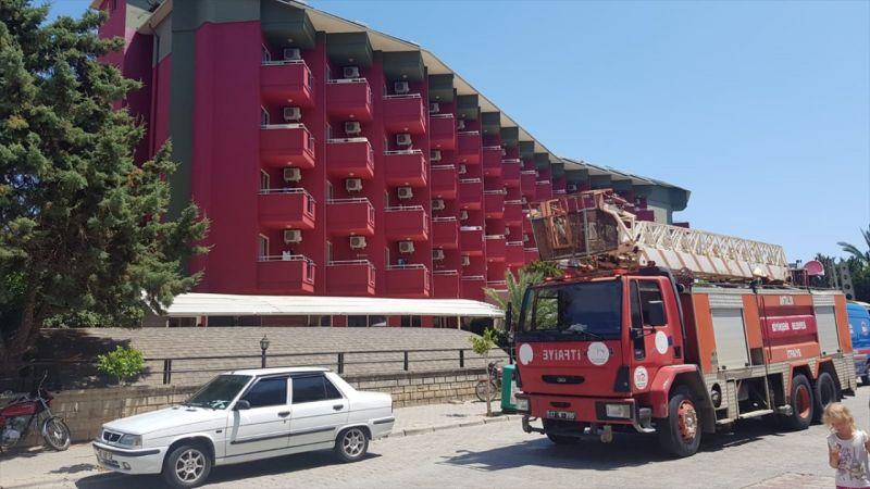 Antalya'da beş yıldızlı otelde yangın