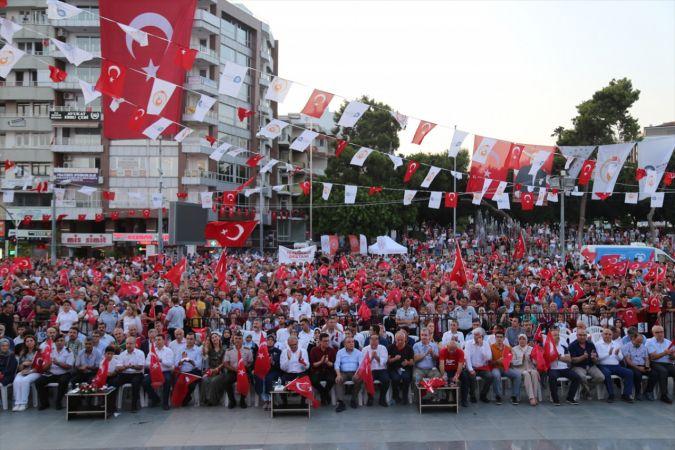 Antalya'da 15 Temmuz Demokrasi ve Milli Birlik Yürüyüşü