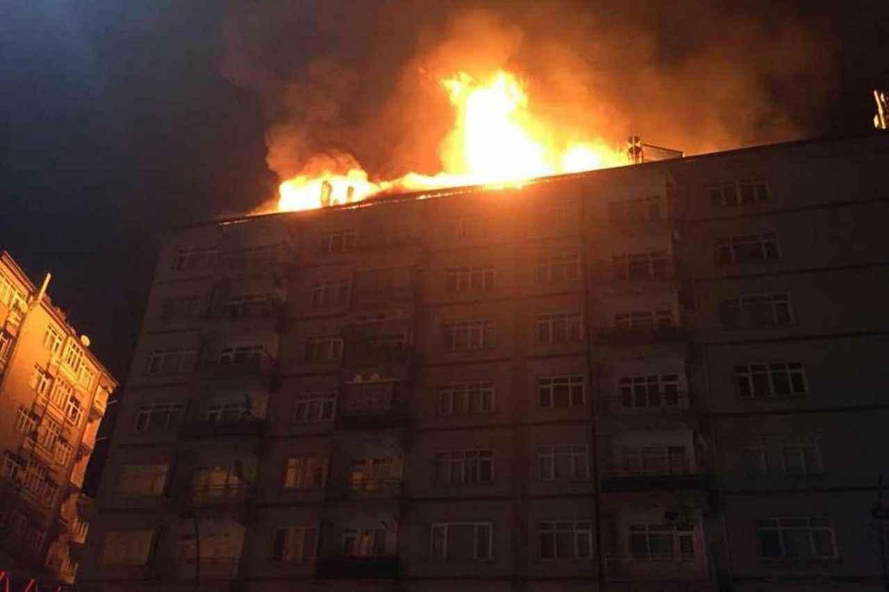 Elazığ'da deprem sonrası bir binada yangın çıktı ile ilgili görsel sonucu