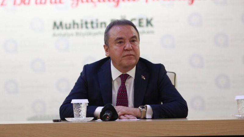 Başkan Böcek: Konyaaltı'nda ranta dur dedi