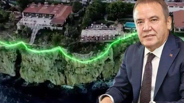 Antalya'da CHP'li Böcek'in 'proje' dediğine... Vatandaş 'pavyon' dedi