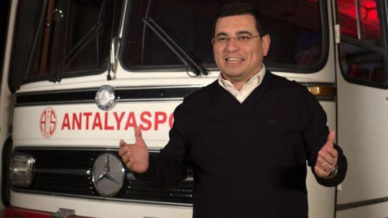 Başkan Tütüncü'den, Antalyaspor'a destek