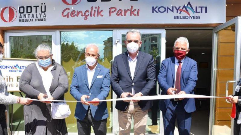ODTÜ Gençlik Parkı hizmete açıldı