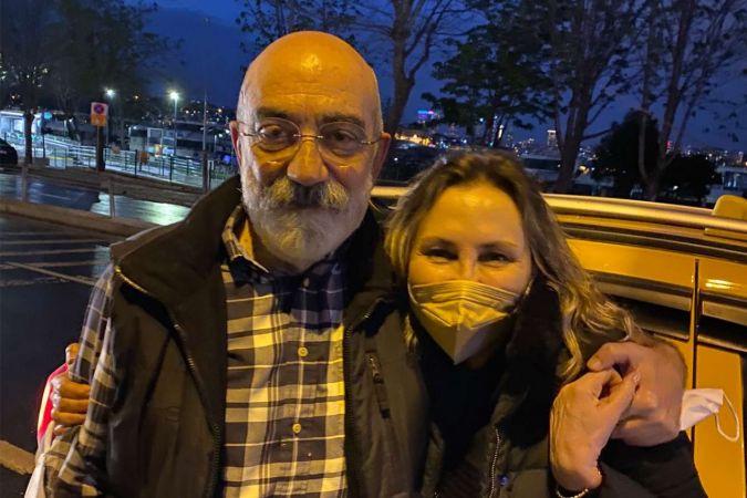 Ahmet Altan cezaevinden salıverildi