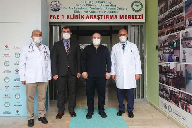 Bakan Varank geliştirilen yerli VLP aşısı oldu