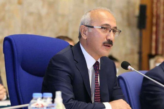 """Bakan Elvan'dan """"128 milyar dolar"""" açıklaması"""