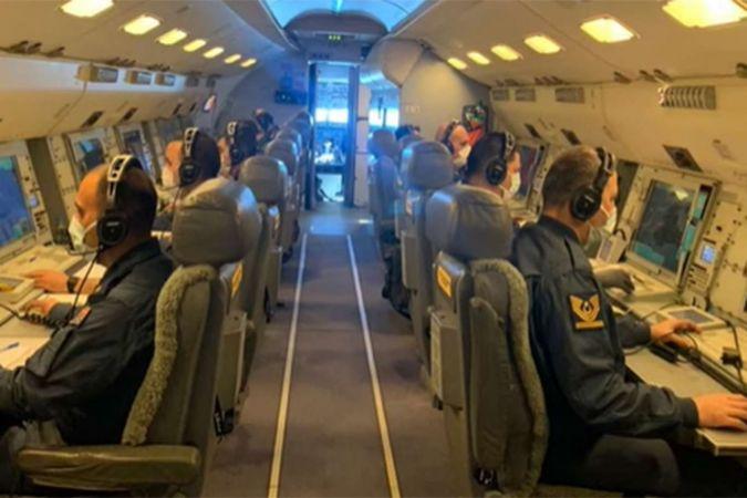 E-7T HİK ilk kez NATO üyesi bir ülke hava sahasında görev yaptı