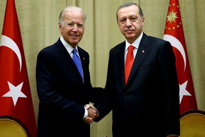 Cumhurbaşkanı Erdoğan ABD Başkanı Biden ile görüştü