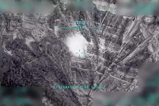 MSB Irak'ta düzenlenen operasyonların görüntülerini paylaştı