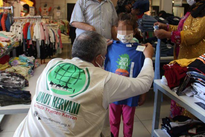 Umut Kervanı bayram öncesi Adana'da 250 çocuğu girdirecek