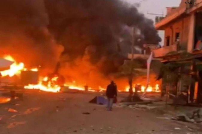 Cerablus'ta eş zamanlı saldırılar: Bir ölü 20 yaralı