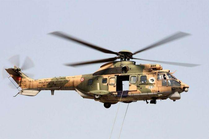 Helikopterden düşen asker vefat etti