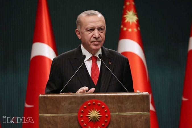 """Cumhurbaşkanı Erdoğan: """"Hak kayıplarının önüne geçecek önemli düzenlemeler yapıyoruz"""""""