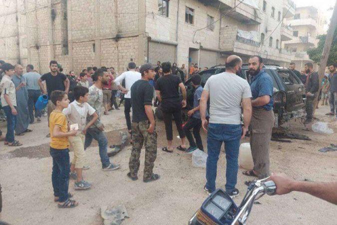 PKK'den Afrin'de bombalı saldırı: 5 çocuk yaralandı