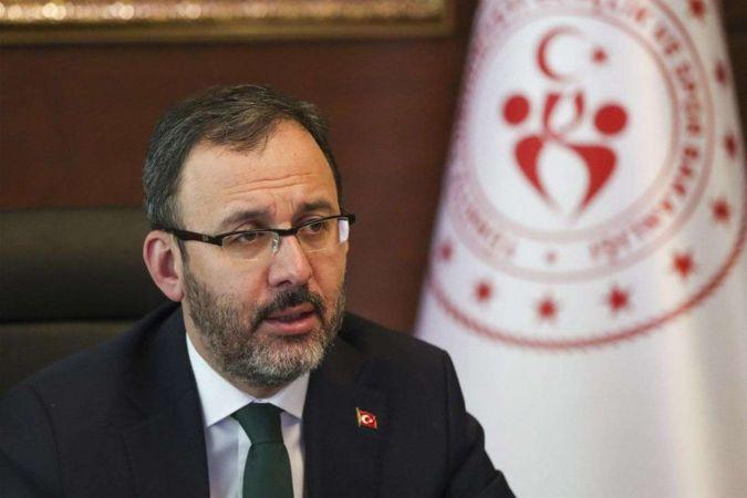 Gençlik ve Spor Bakanı Kasapoğlu: Burs ve kredi ödemeleri başladı