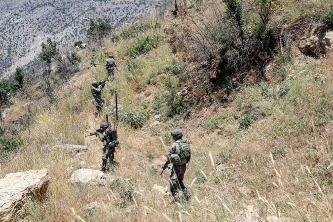 Pençe operasyonlarında 2 PKK mensubu öldürüldü