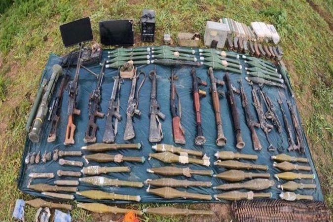 PKK'ye ait çok sayıda silah, mühimmat ve yaşam malzemesi ele geçirildi
