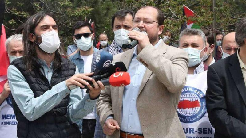 Siyonist işgal rejiminin Mescid-i Aksa'ya yönelik saldırısına bir kınamada Ankara'dan